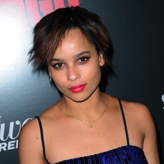 Zoe Kravitz in The Premiere of Django Unchained