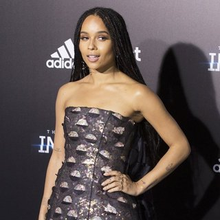 Zoe Kravitz in US Premiere of The Divergent Series: Insurgent - Red Carpet Arrivals