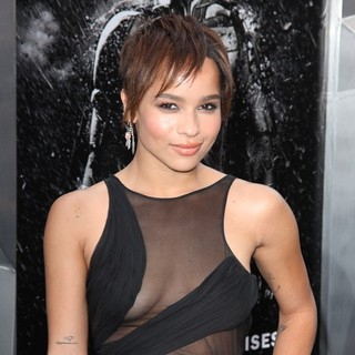 Zoe Kravitz in The Dark Knight Rises New York Premiere - Arrivals