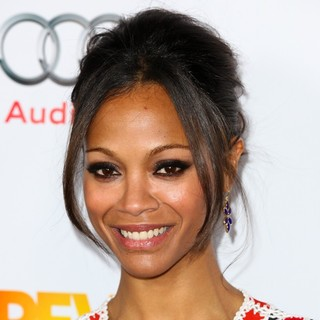 Zoe Saldana in The Trevor Project's 2011 Trevor Live! - Arrivals
