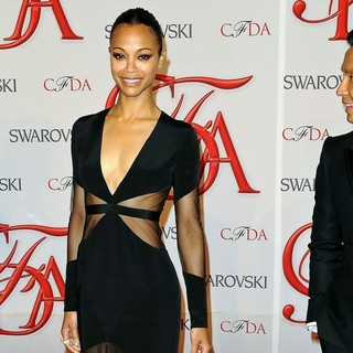Zoe Saldana in 2012 CFDA Fashion Awards
