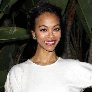 Zoe Saldana in The 21st Annual Children's Defense Fund California Beat The Odds Awards