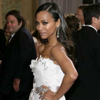 Zoe Saldana in The 85th Annual Oscars - Red Carpet Arrivals