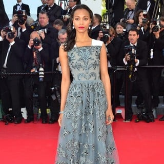 Zoe Saldana in 66th Cannes Film Festival - Blood Ties Premiere