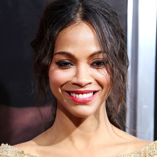 Zoe Saldana in The Premiere of CBS Films' The Words - Red Carpet