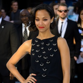 Zoe Saldana in U.K. Premiere of Star Trek Into Darkness - Arrivals