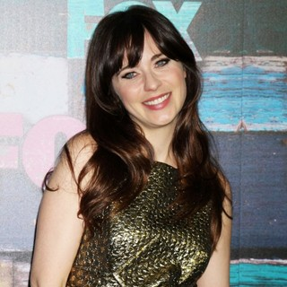 Zooey Deschanel in Fox All-Star Party - Arrivals