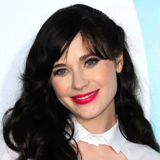 Zooey Deschanel in 2012 Fox Upfront Presentation - Arrivals