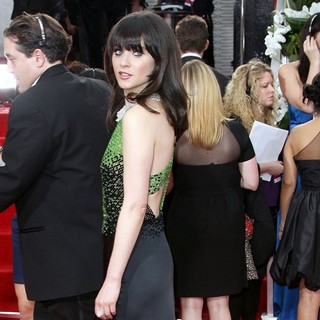 Zooey Deschanel in The 69th Annual Golden Globe Awards - Arrivals