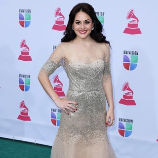 Zuria Vega in 13th Annual Latin Grammy Awards - Arrivals