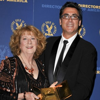 Susan Zwerman, Frank Capra III in 65th Annual Directors Guild of America Awards - Press Room