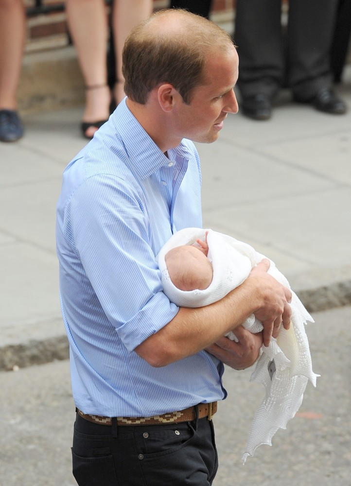 Prince William<br>Prince William and Kate Middleton Left Hospital with Their New Bundle of Joy