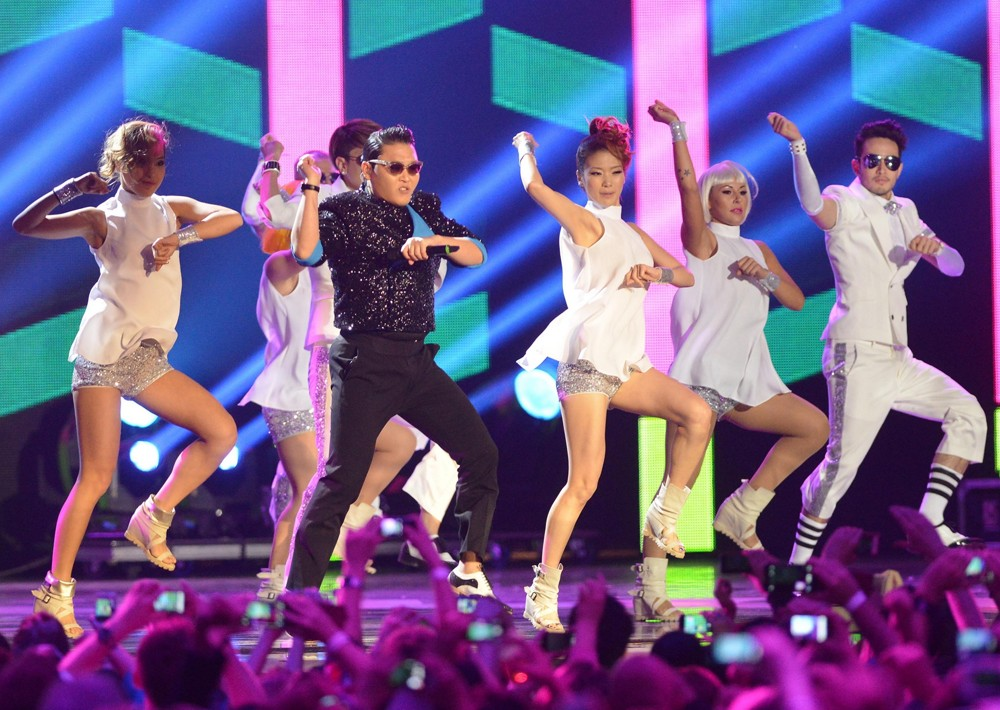 PSY<br>The MTV EMA's 2012 - Show