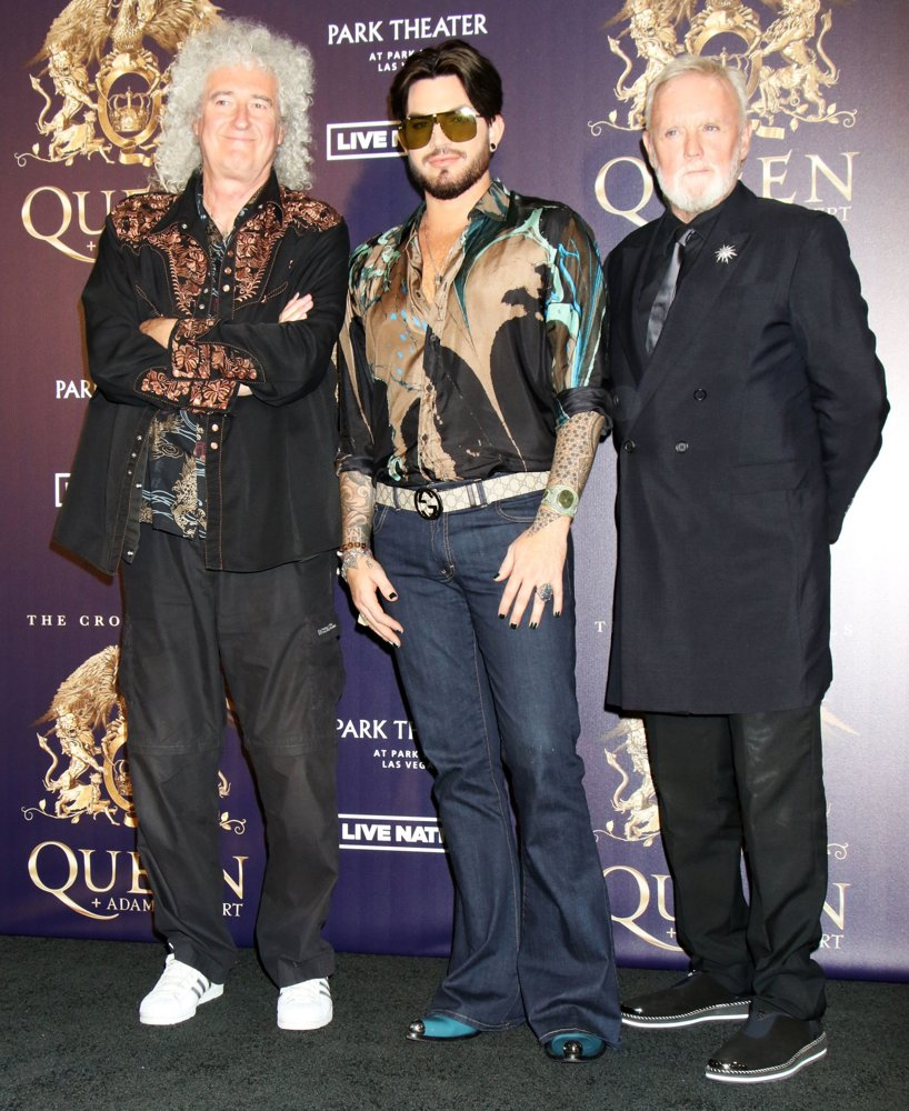 Queen, Brian May, Adam Lambert, Roger Taylor<br>A Press Conference to Kick Off Limited Engagement The Crown Jewels