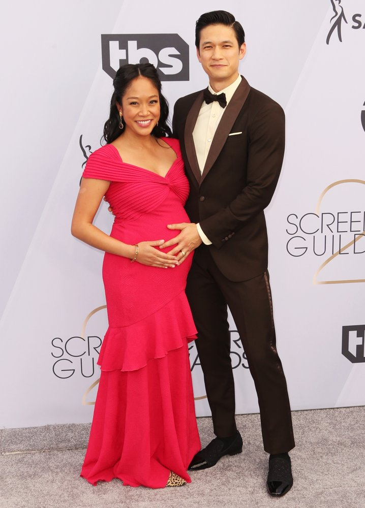 Shelby Rabara, Harry Shum Jr.<br>25th Annual Screen Actors Guild Awards - Arrivals