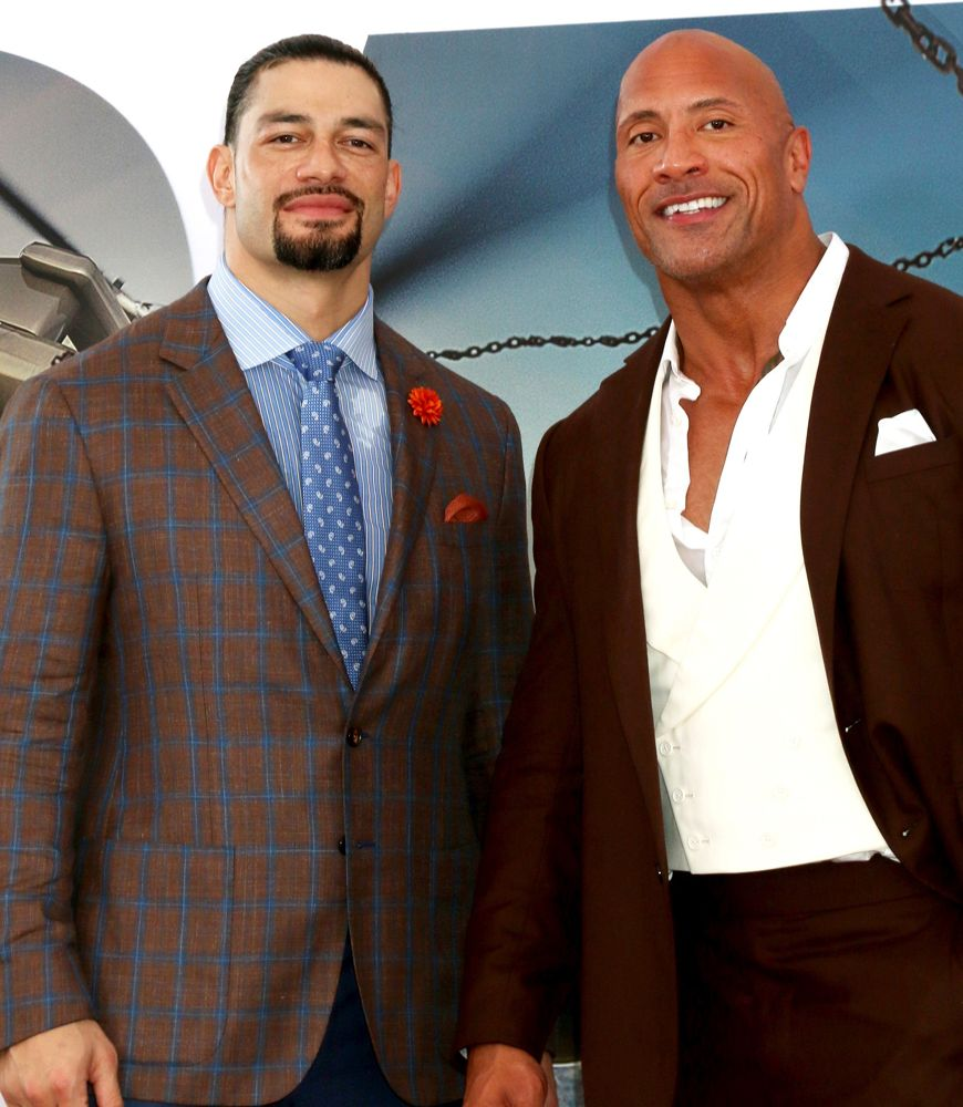 Roman Reigns, The Rock<br>Fast and Furious Presents: Hobbs and Shaw Premiere