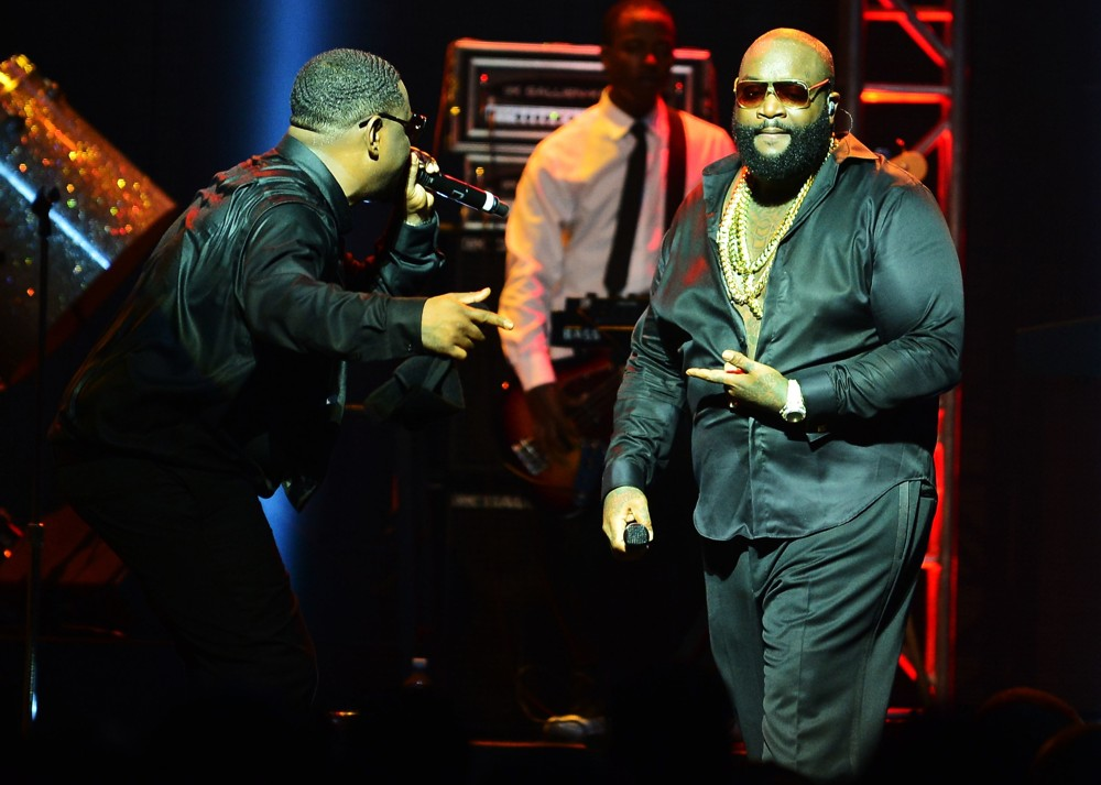Rick Ross<br>Rick Ross Performing in Concert