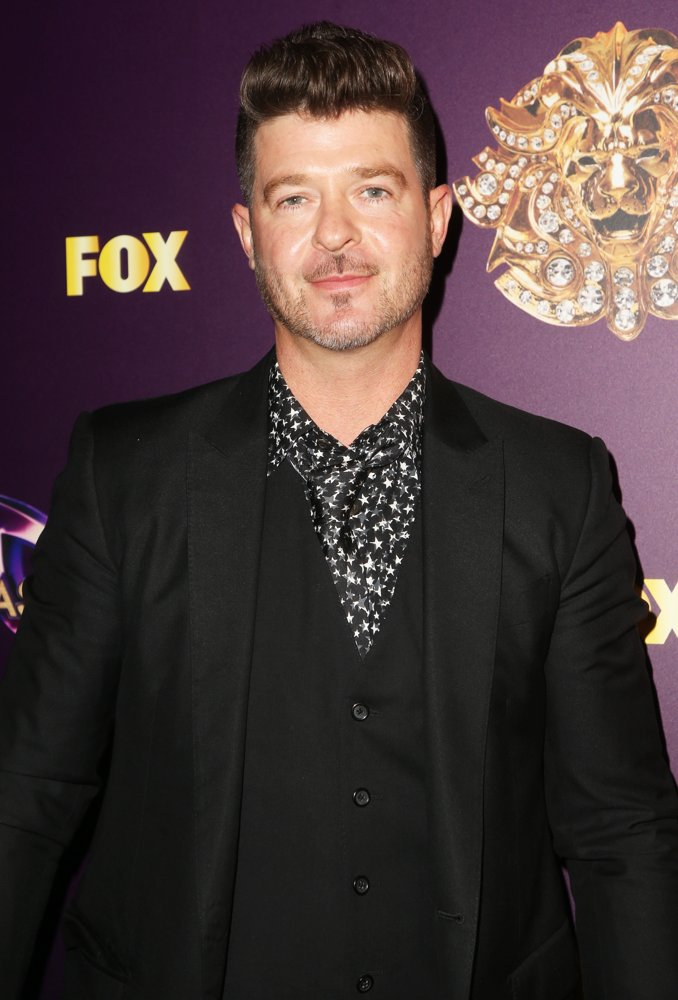 Robin Thicke<br>The Masked Singer TV Series Premiere - Arrivals