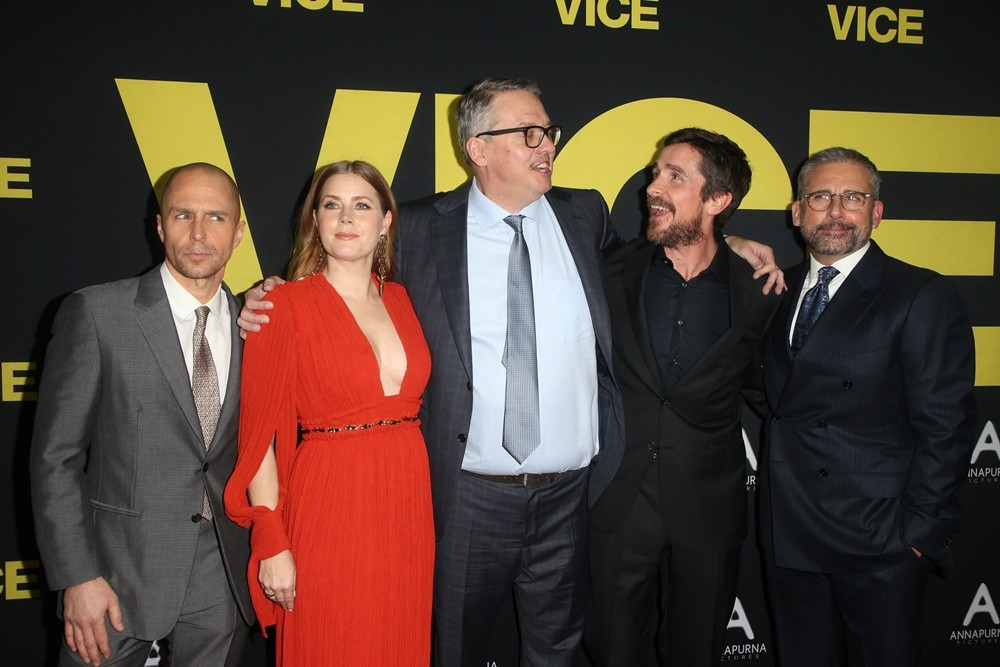 Sam Rockwell, Amy Adams, Adam McKay, Christian Bale, Steve Carell<br>Vice World Premiere - Arrivals