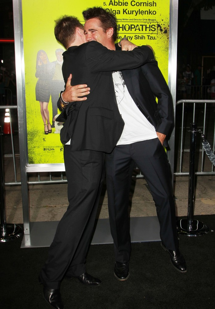 Sam Rockwell, Colin Farrell<br>Seven Psychopaths Los Angeles Premiere - Arrivals