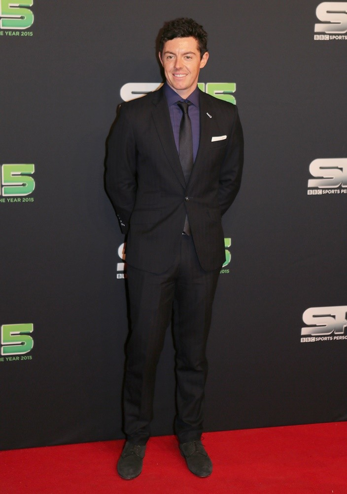 Rory McIlroy<br>BBC Sports Personality of The Year 2015 - Arrivals