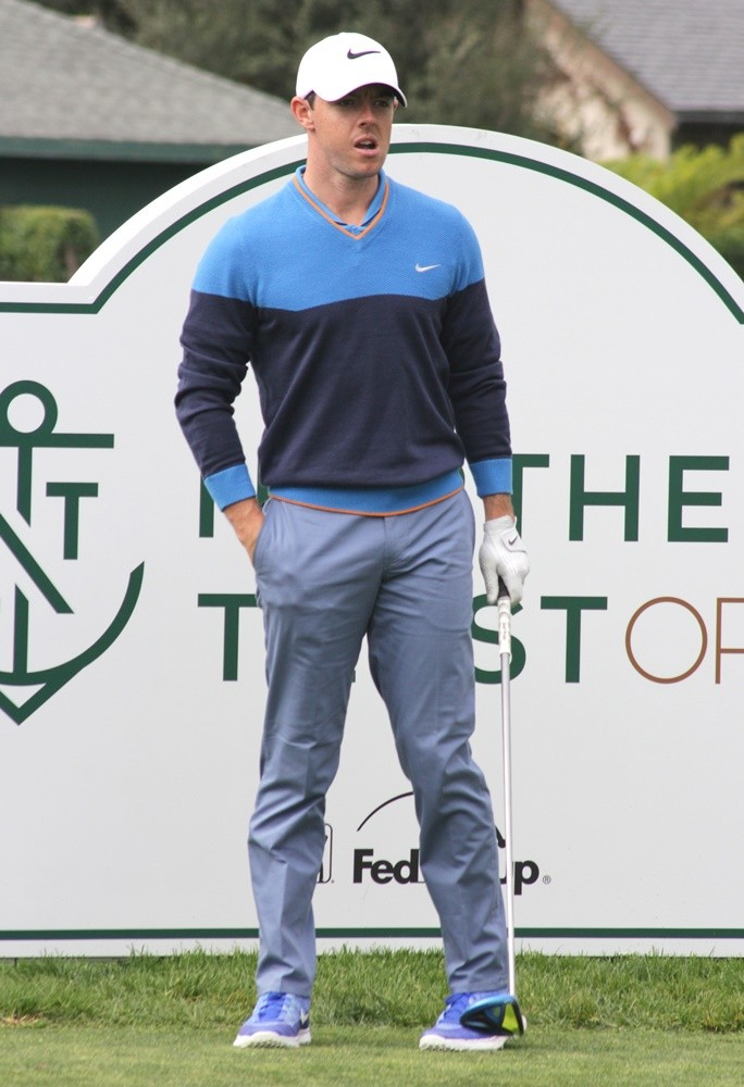 Rory McIlroy<br>Official Northern Trust Open Pro-Am PGA Tour - Day 1