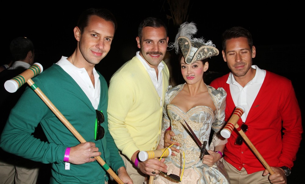 Rose McGowan<br>L.A. Gay and Lesbian Center's Annual Halloweenie Party