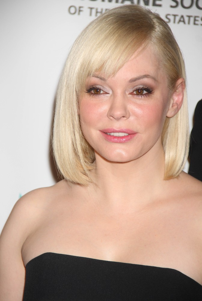 Rose McGowan<br>The Humane Society Benefit for Rescue Team
