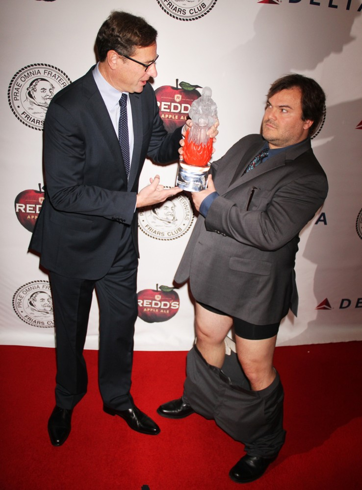 Jack Black Drops His pants as He Gets Roasted at Friar's Club
