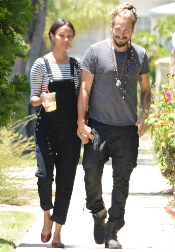 Zoe and Marco Saldana, he took her last name