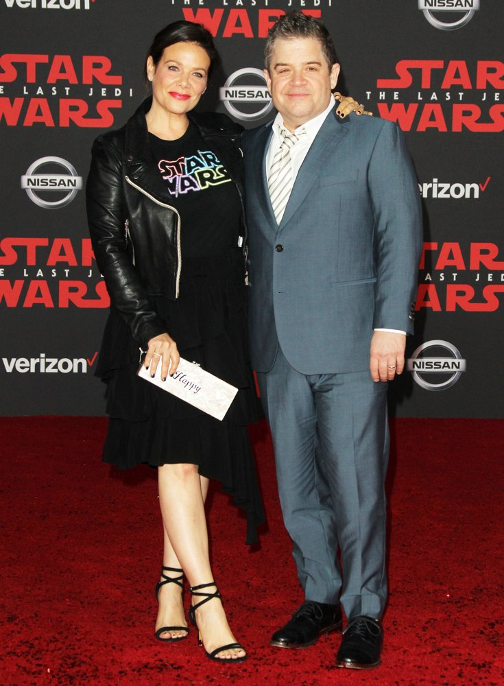 Meredith Salenger, Patton Oswalt<br>Premiere of Disney Pictures and Lucasfilm's Star Wars: The Last Jedi