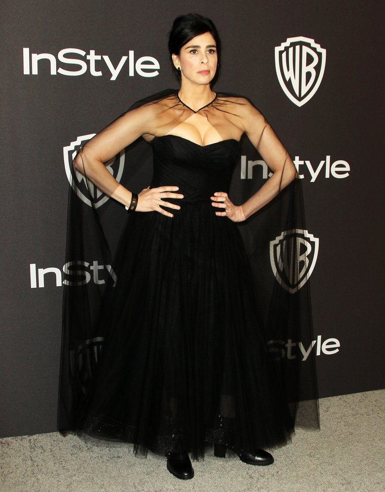 Sarah Silverman<br>InStyle Warner Bros Golden Globe After Party 2019