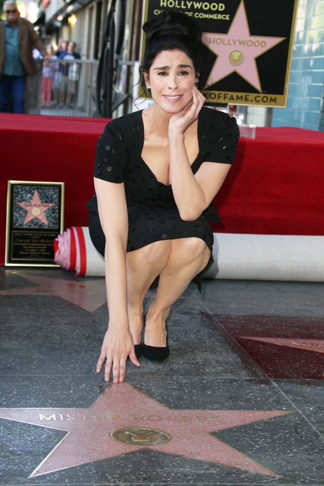 Sarah Silverman<br>Sarah Silverman Is Honored with A Star on The Hollywood Walk of Fame