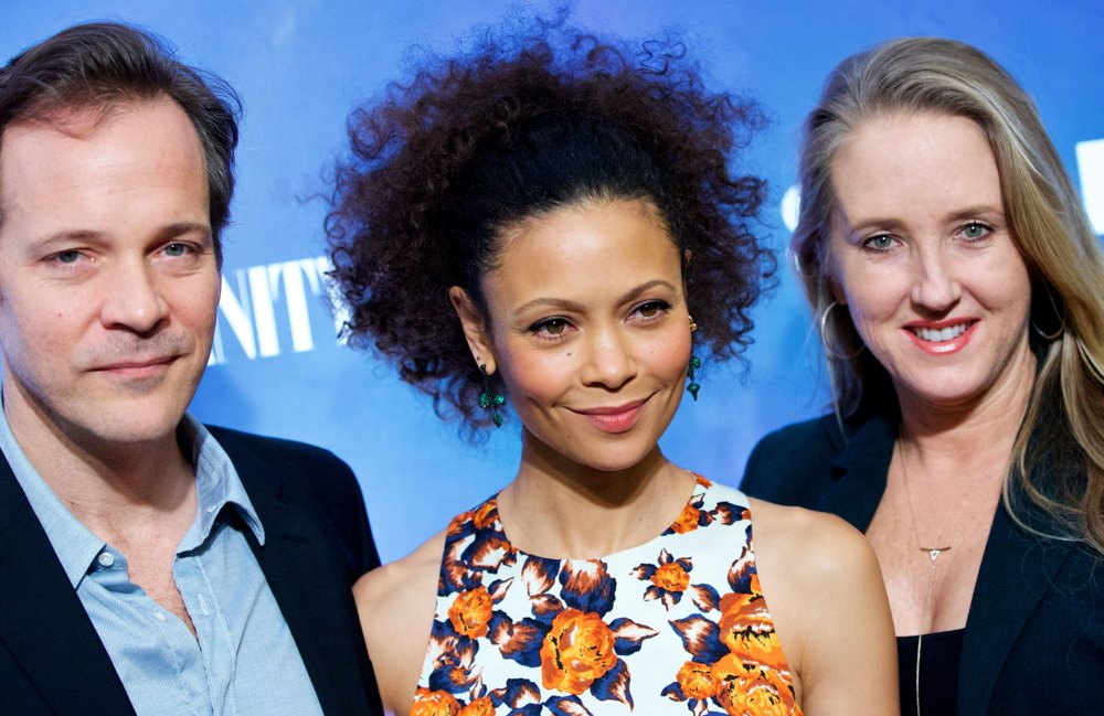 Peter Sarsgaard, Thandie Newton, Jennifer Salke<br>New York Premiere Party for The Slap - Arrivals