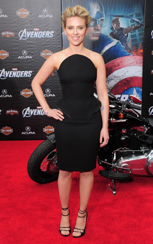 Scarlett Johansson<br>World Premiere of The Avengers - Arrivals