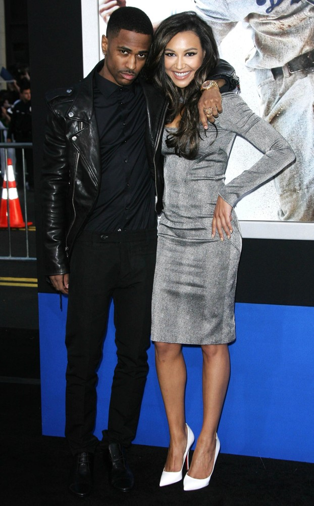 Big Sean, Naya Rivera<br>Los Angeles Premiere of 42: The True Story of An American Legend - Arrivals