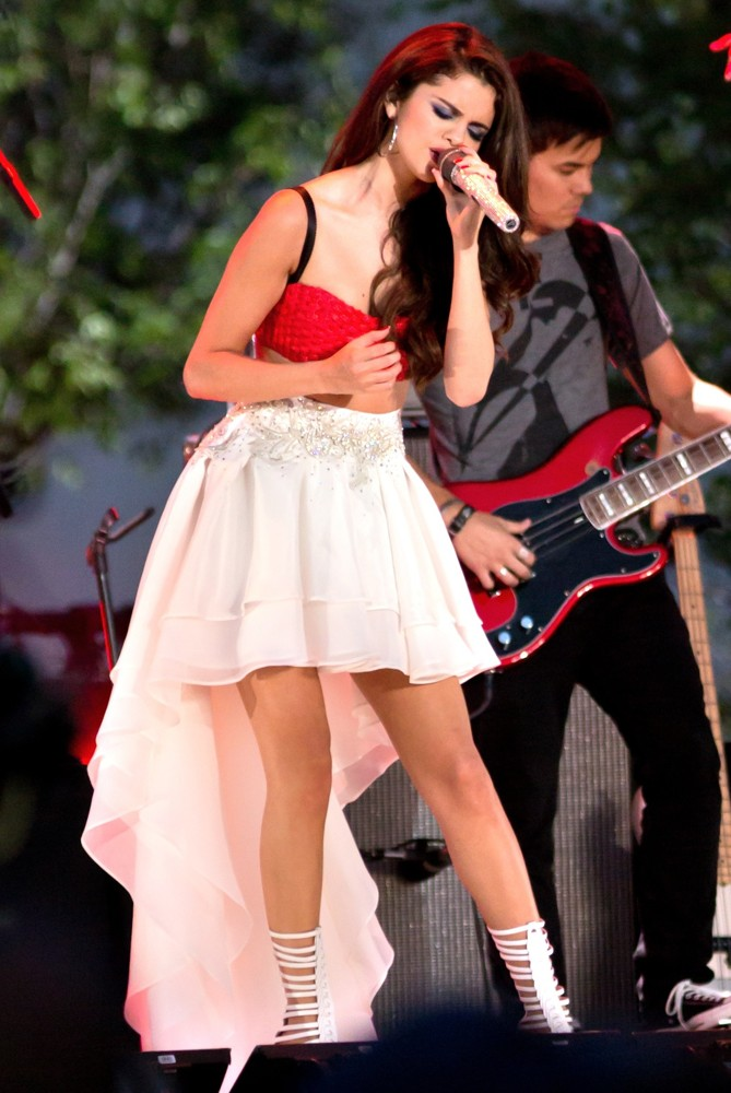 Selena Gomez<br>Pre-Tape A Fourth of July Television Special
