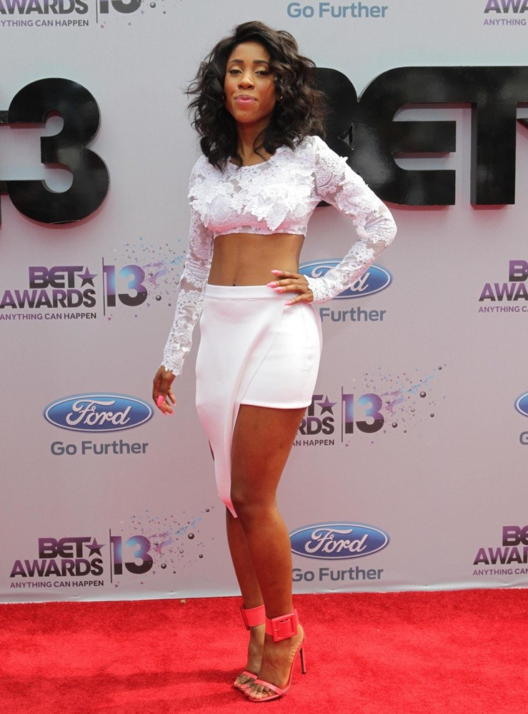 Sevyn Streeter Picture 5 The 2013 Bet Awards Arrivals