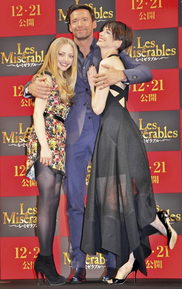 The Japan Premiere of Les Miserables