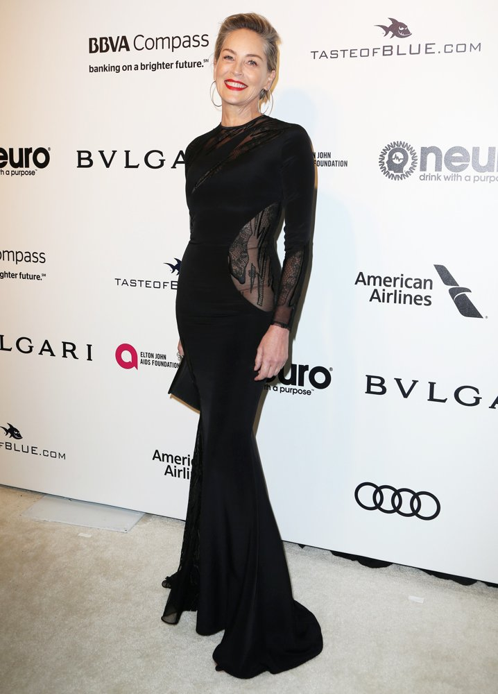 Sharon Stone<br>25th Annual Elton John AIDS Foundation's Academy Awards Viewing Party