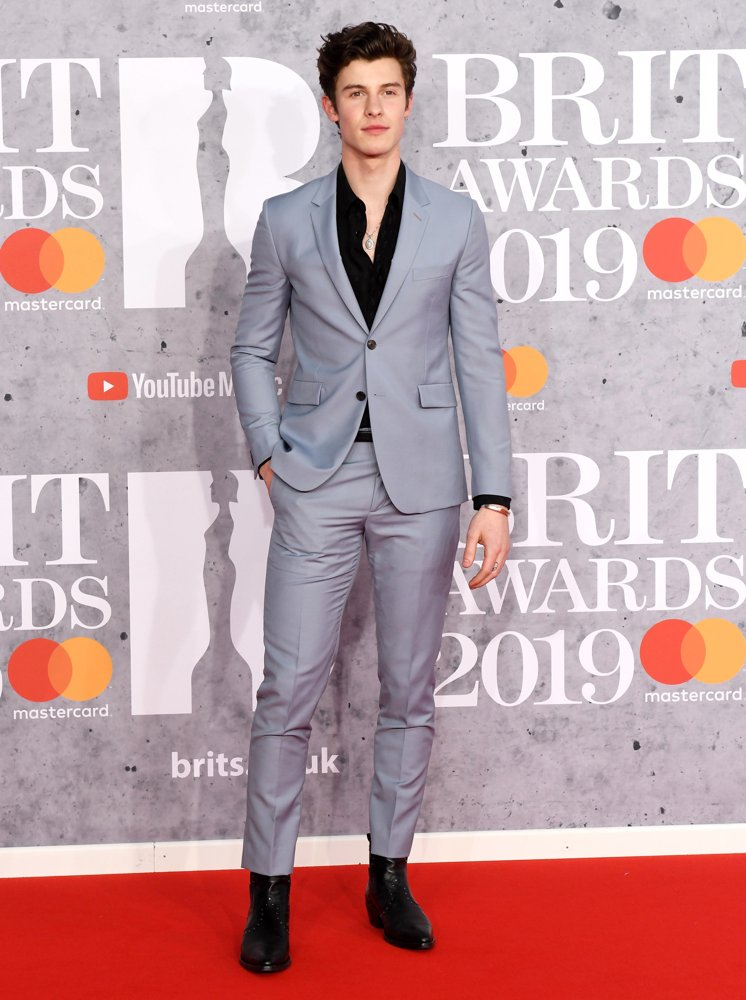Shawn Mendes<br>The Brit Awards 2019 - Arrivals