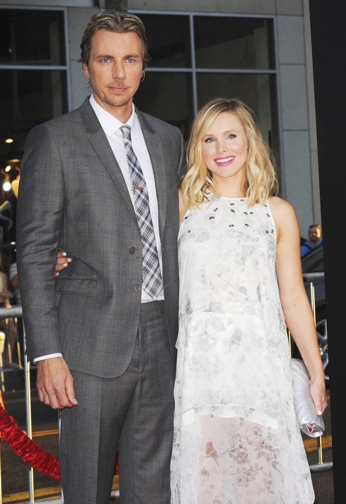 Dax Shepard, Kristen Bell<br>Los Angeles Premiere of This Is Where I Leave You - Arrivals