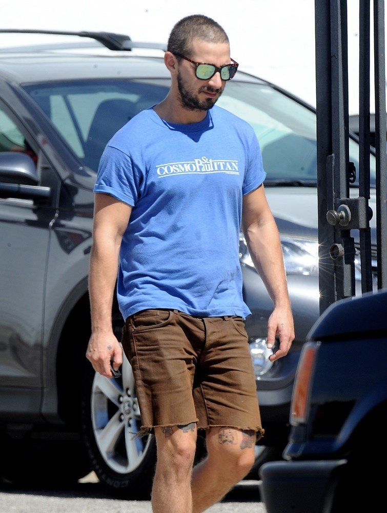 Shia LaBeouf Picture 191 - Shia LaBeouf Spotted Leaving ...