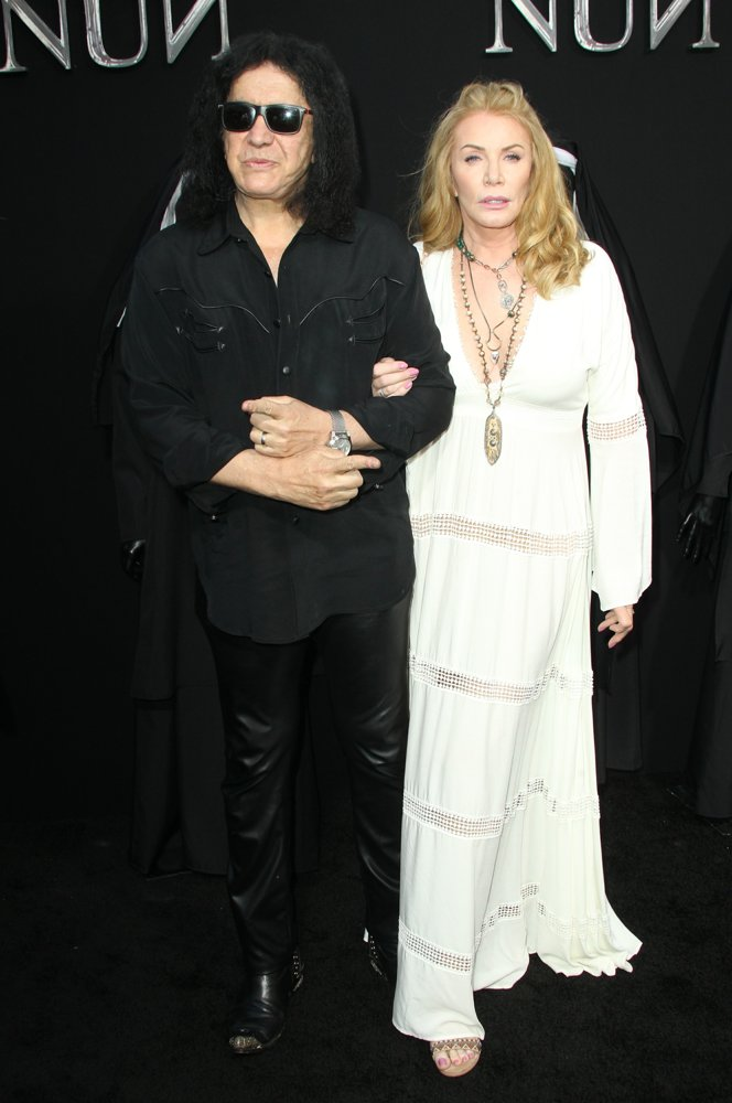 Gene Simmons, Shannon Tweed<br>The Nun Premiere