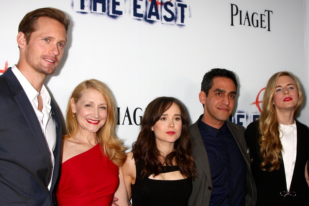 Alexander Skarsgard, Patricia Clarkson, Ellen Page, Zal Batmanglij, Brit Marling<br>Los Angeles Premiere of The East