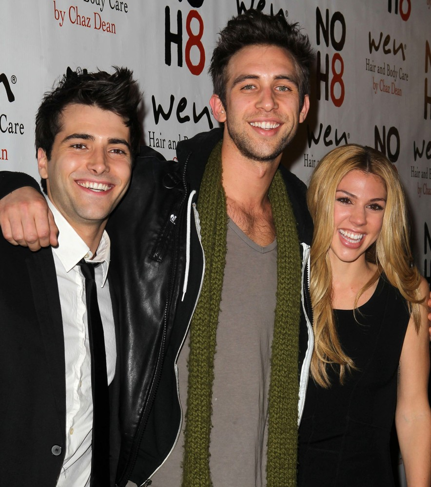 Freddie Smith, Blake Berris, Kate Mansi<br>NOH8 Celebrity Studded 4th Anniversary Party - Arrivals