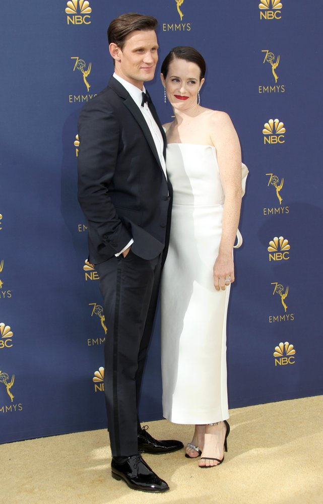 Matt Smith, Claire Foy<br>70th Emmy Awards - Arrivals