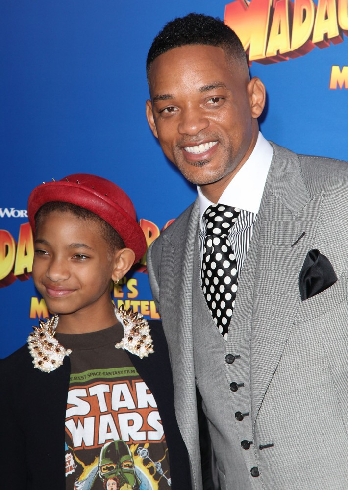 Willow Smith, Will Smith<br>New York Premiere of Dreamworks Animation's Madagascar 3: Europe's Most Wanted