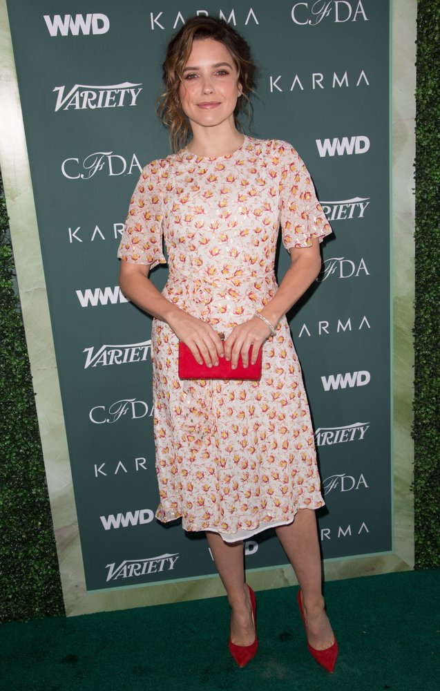 Sophia Bush<br>CFDA Variety and WWD Runway to Red Carpet
