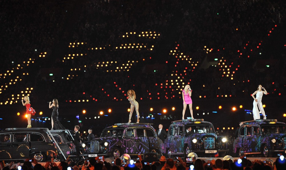 Spice Girls<br>London 2012 Olympic Games - Closing Ceremony